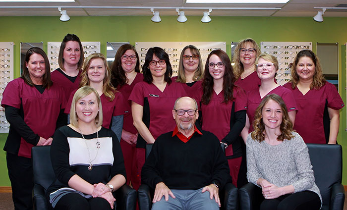 Visionary Eye Care Staff Group Photo